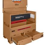 MODEL 89-DH STORAGEMASTER® PIANO BOX WITH JUNK TRUNKAND THERMOSTEEL