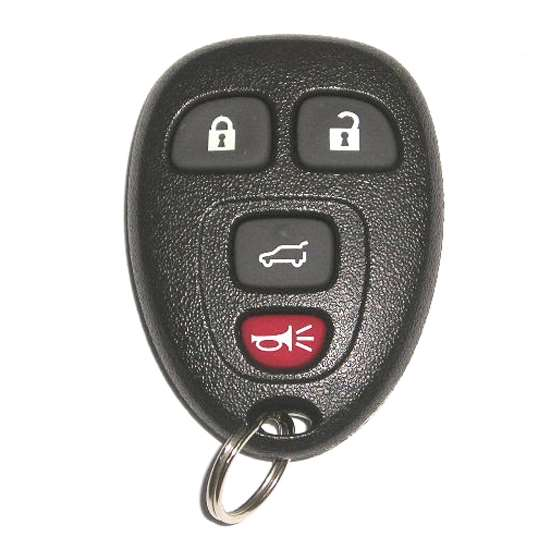 OUC602 4 Button Key Fob with Liftgate