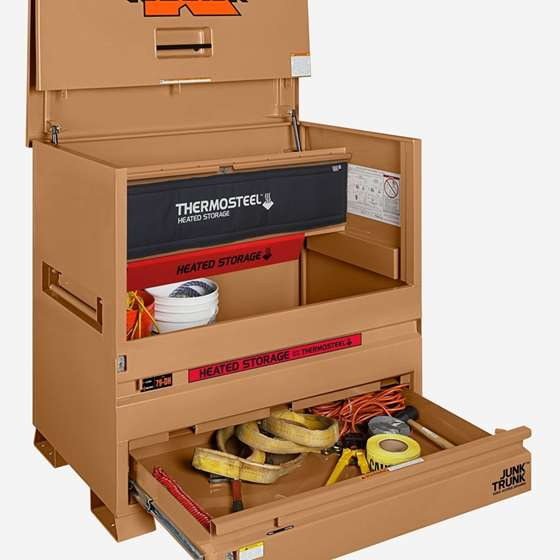 MODEL 79-DH STORAGEMASTER® PIANO BOX WITH JUNK TRUNK AND THERMOSTEEL
